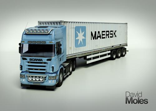 Maersk Line 3D Assets