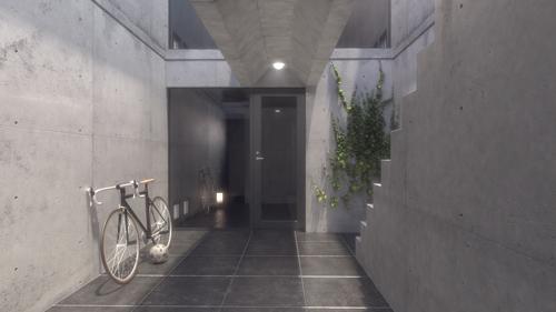 Azuma House - 3D Visualisation