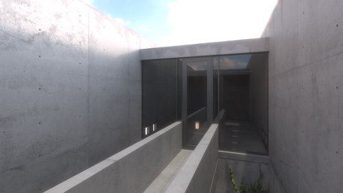 Azuma House - 3D Visualisation